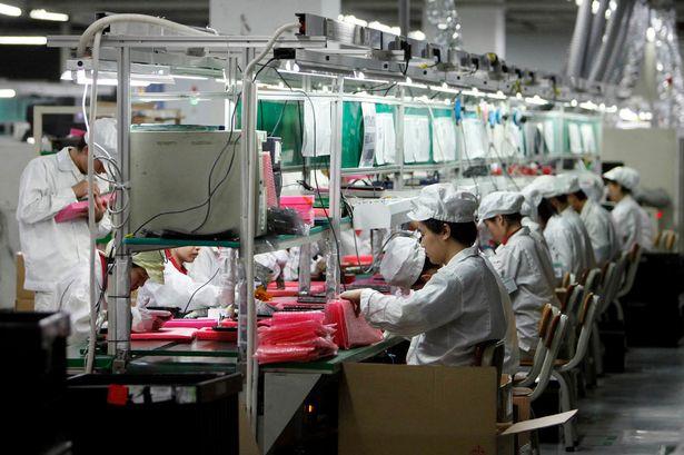 Foxconn - in de fabriek