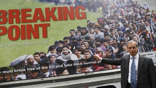 brexit arbeiders vluchtelingen
