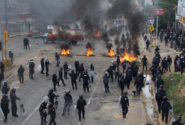 Mexico leraren stakingen repressie