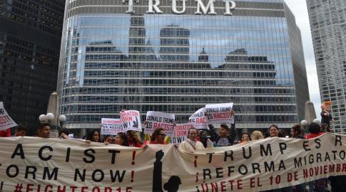 trumpfightfor15protest
