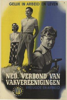 nvv-poster-vreugde-en-arbeid_1942