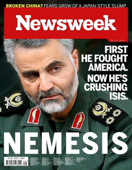 Qaseem Soleimani on Newsweek