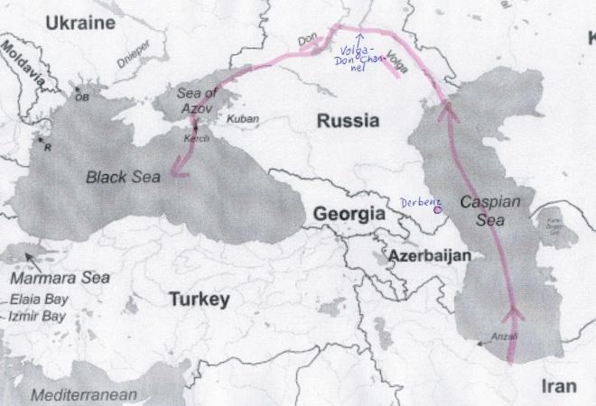 De Kaspische achterdeur van Iran